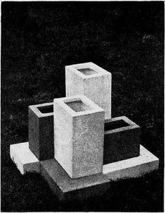Plastic garden (Vases) - Theo van Doesburg