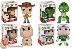 Toy Story POPs - Now Available at www.ozziecollectables.com.au  Buy the bundle with Ozzie Collectables and Save - 4 POPs for $60   #pop #funko #vinyl #pops #toy #story #toystory #animation #popanimation #popmovies #movies #pixar #pixarmovie #buzz #woody #red #hamm #OzzieCollectables #Ozzie #Collectables