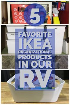 5 Favorite Ikea Products In Our RV 5 of our favorite storage and organization Ikea products we use in our RV. Ikea has so many storage and organization products to choose from. You are bound to find at least one right for your RV. Organisation Ikea, Travel Trailer Organization, Camping Organization, Organizing Ideas, Rv Camping Tips, Travel Trailer Camping, Camping Essentials, Camping Products, Travel Trailers