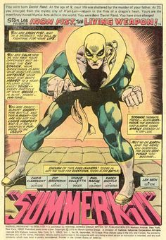 """In other news, Iron Fist is circa twenty! An early Chris Claremont story, still pre-Byrne: Pat Broderick gets a substantial assignment from Marvel (DC wastes him on goofy filler material at this point - the company later hires him for the Hasbro-based """"C.O.P.S.,"""" written by Doug Moench, previously on this)."""