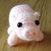 Pig Crochet Pattern - via @Craftsy
