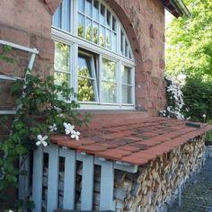Holzschuppen, Kaminholz
