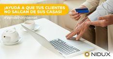 Es el momento de llevar tu negocio hasta tus clientes. Te capacitamos y te damos las herramientas para que estés solo a un click de distancia. Conocé más en www.nidux.com  Contactanos por 📨mensaje directo a  📧ventas@nidux.com.   #VendePorInternet #eCommerce #OnlinePlatform #Pymes #SellOnline #Emprendedor #Covid19 #Internet #Online #QuedateEnCasa Internet, Distance, Business, Tools, Messages
