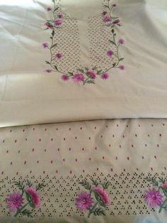 Embroidery Suits Punjabi, Embroidery Suits Design, Hand Work Embroidery, Embroidery Fashion, Hand Embroidery Designs, Embroidery Dress, Embroidery Stitches, Embroidery Patterns, Muslin Fabric