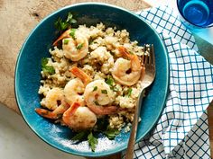 Healthy Garlic Shrimp and Quinoa Grits Recipe : Food Network Kitchen : Food Network - FoodNetwork.com