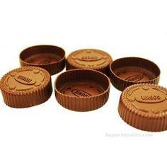 Car nous aimons tous les Oreos ! De la forme d'Oreo Matière : siliconeSet de 6 moules cookies