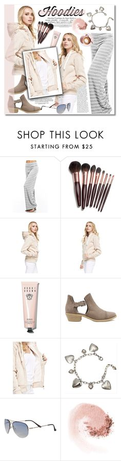 """""""Winter Layering: Hot Hoodies"""" by knittedbelleboutique ❤ liked on Polyvore featuring 12PM by Mon Ami, Charlotte Tilbury, Bobbi Brown Cosmetics, Sweet Romance, Martha Stewart, Trio Eyewear, NARS Cosmetics, women's clothing, women's fashion and women"""