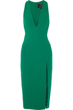 Cushnie et Ochs | Stretch-cady dress | NET-A-PORTER.COM