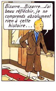 La vie de Tintin | Tintin bloque toujours sur l'histoire de Toto à la...