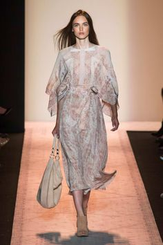 Soft printed dress-BCBG RTW SP15