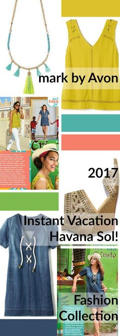 NEW!  mark by Avon Instant Vacation 2017 Havana Sol!  Fashion. Shop mark by Avon online http://barbieb.avonrepresentative.com