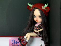 Blythe doll OOAK customized by CARLAXY Ready for by WearingDreams