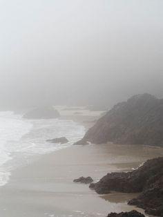 Kynance Cove in Winter Fog Cornwall The Cornish Life Landscape Photography Tips, Fog Photography, Aerial Photography, Landscape Photos, Wedding Photography, Cornwall, Twilight, Mists, Seaside