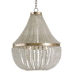 Chanteuse Chandelier by Currey and Company. 25x 32, love it, but not sure it is big enough