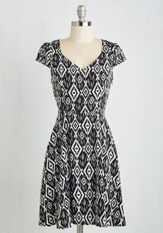 Work this Way Dress in Ikat, @ModCloth