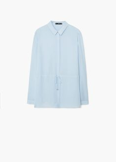 Blusa laccio | MANGO