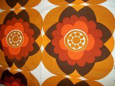 1970s furnishing fabric