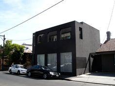 black cube house :)