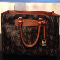 Dooney & Bourke Satchel Monogram Handbag $ Firm