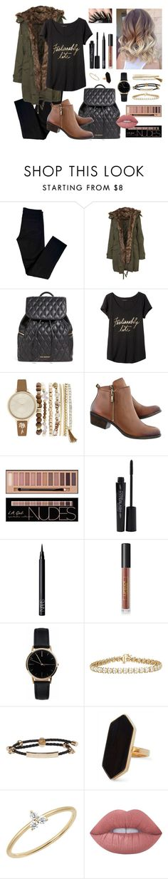 """Winter/ New Year"" by katymccord77 ❤ liked on Polyvore featuring J Brand, Vera Bradley, Banana Republic, Jessica Carlyle, Smashbox, NARS Cosmetics, Lipstick Queen, Freedom To Exist, Alexander McQueen and Jaeger"