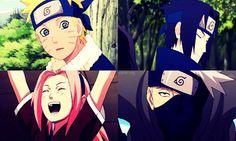 Cute genin team 7
