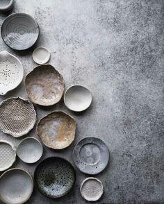 Grey and wabi-sabi vibe. Perfect!