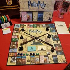 Andy Luck added a photo of their purchase Harry Potter Monopoly, Harry Potter Bday, Harry Potter Games, Harry Potter Printables, Harry Potter Halloween, Harry Potter Universal, Monopole Harry Potter, Projects For Kids, Diy For Kids