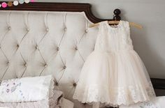 Amber Beljian Dress @ jujubunnyshop - $64 - white or pink 3T - adorable!