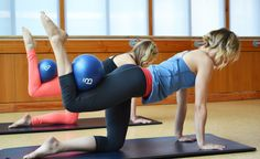 barre3 5 barre3 Moves You Can Do Without A Barre (All You Need Is 10 Minutes!) All Fours