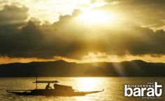 awesome sunset: Biyahe Lokal in Cagbalete Island Nature Beach, His Travel, Travel Photographer, Philippines, Boat, River, Island, Sunset, Awesome