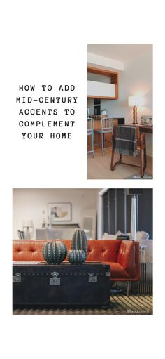 Love mid-century modern style, but you don't want your home to look dated? Learn how to add accents like a mid-century credenza for the right look.
