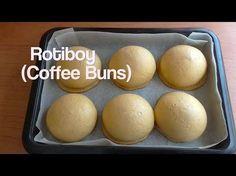 How to make coffee buns recipe (rotiboy / paparoti) / resep rotiboy - YouTube