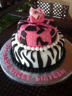 Happy Sweet 16 Birthday Cakes   Sweet Sixteen Birthday Cake! — Birthday Cakes