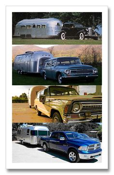 Airstream over the years