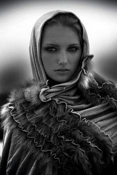 the model shawl