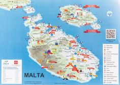 The 20 Best Things to Do in Malta - Modern Malta Map, Malta Italy, Malta Comino, Malta Gozo, Cinque Terre, Snorkeling, Malta Travel Guide, Malta Beaches, Stuff To Do