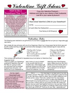 mary kay valentine's day flyer 2015 - Google Search