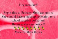Only if u have time, Bethers. WE ❤ YOU!!!!! @Bethanynoels