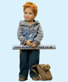 Robby;  Kidz 'n' Cats doll face 3
