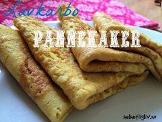 Lavkarbo pannekaker – melkefri, glutenfri, sukkerfri – Helhetlig Liv