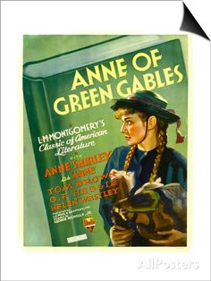 Anne of Green Gables, Anne Shirley on Window Card, 1934 SwitchArt&#8482 Print at AllPosters.com