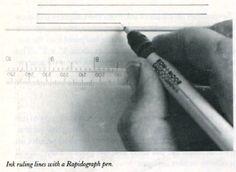 Canetas Rapidograph