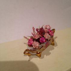 Dollhouse Miniatures flowers 1/12th scale by minismarillum on Etsy