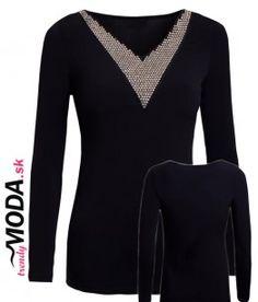 cierne-tricko-ct2711201508-us Sweaters, Fashion, Moda, Fashion Styles, Sweater, Fashion Illustrations, Sweatshirts, Pullover Sweaters, Pullover