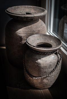 Oude Nepalse Kruiken Van Hoffz...