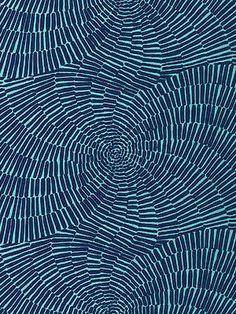 DecoratorsBest - Detail1 - Sch 174240 - Sonriza Print - Marine Pool - Fabrics - - DecoratorsBest