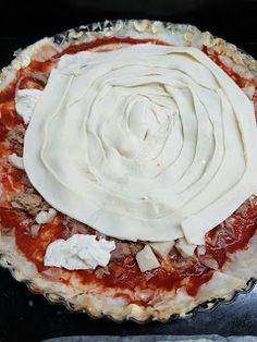 TARTA DE ATÚN Y QUESO CBF@ Queso, Quiche, Pie, Desserts, Blog, Tuna Cakes, Sausages, Flaky Pastry, Torte