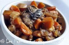 Mignon de porc aux carottes, panais, navets, gingembre, miel et sauge | Les Papilles Estomaquées...Les Papilles Estomaquées…