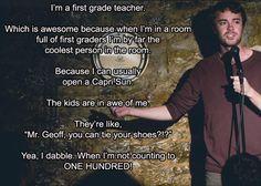 I still remember my first grade teacher. She made each day fun.