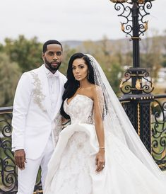 Safaree and Erica Mena Wedding Photos and Official Video Released Wedding News, Wedding Vendors, Wedding Events, Wedding Photos, Different Dresses, White Wedding Dresses, Bridal Headpieces, Celebrity Weddings, Bridal Style